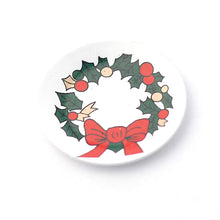 Christmas plate - miniature