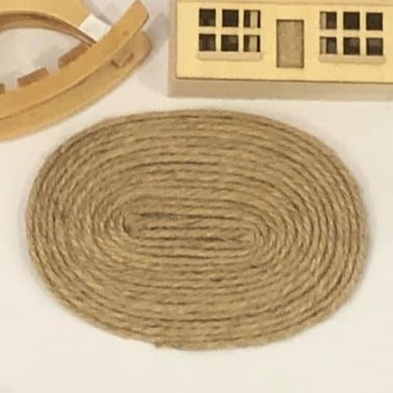 Dollshouse minaiture rope rush mat