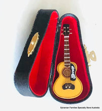 Red Washburn Guitar - Miniature