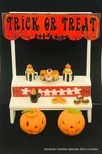 Dollshouse miniature diorama HAlloween stand treats