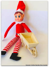 Elf with wheelbarrow