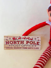 North Pole Post Office Sign