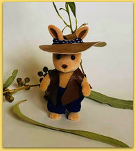 Farmer costume floppy hat for Sylvanian Families figure
