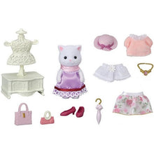 Sylvanian Families Fashion Play Set with Persian Cat
