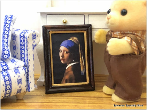Framed Picture - Girl with a Pearl Earring