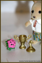 Sylvanian Families School Sports Day Headmaster giving trophy