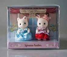 Sylvanian Families The little Princesses silk cat and chocolate rabbit baby