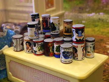 Cans of Tinned Food- x  24 - Miniature