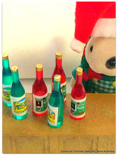 Sylvanian Blackberry rabbit bottles of wine