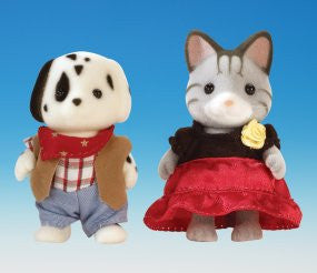 Sylvanian Families Around the World Series - USA & Spain
