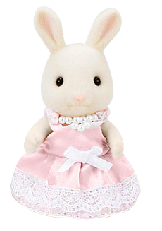 Sylvanian Families Pink Party Dress Up Set - FREE DELIVERY