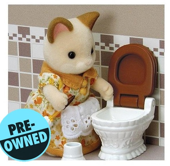 Sylvanian Families Luxury Toilet Set