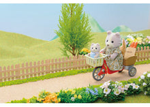 Sylvanian Families Cycling With Farthing Dog Mother and baby - SF 4281