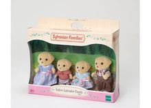 Sylvanian Fenton Labrador Family yellow labs golden labradors