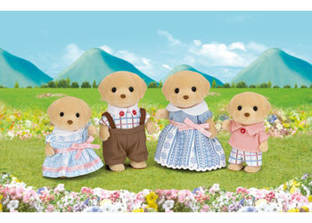 Sylvanian Families Dog Family Golden Labradors