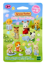 Sylvanian Families Blind Mystery Bags All 8 Baby Band figures unsealed to check which item