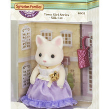 Sylvanian Families Town Girl - Silk Cat