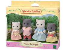 Sylvanian Families Persian cats gray white mixed