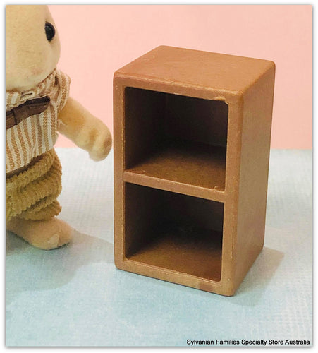 Sylvanian Families upright shelf