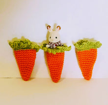 Crochet Easter Carrot Sleeping bag