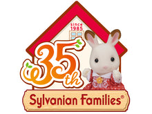 Sylvanian Families Corgi Family - 35th Anniversary celebration set - NEW IN!