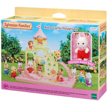 Sylvanian Families Baby Castle Playground with rabbit baby