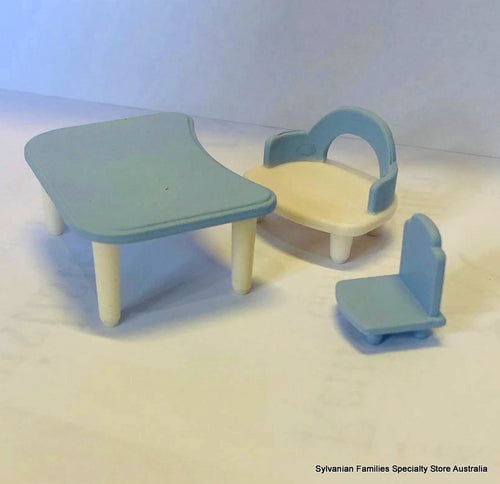 Sylvanian Families spare Nursery furniture blue