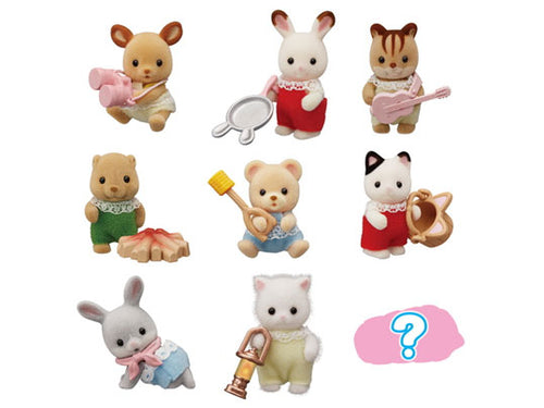 Sylvanian Families Blind Bags Baby Camping Series - Purchase all 9