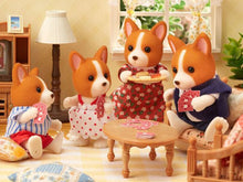 Sylvanian Families Corgi Family 35th anniversary celebration set limited edition