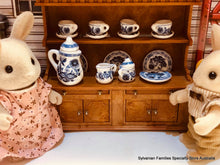 Sylvanian Families with china tea set