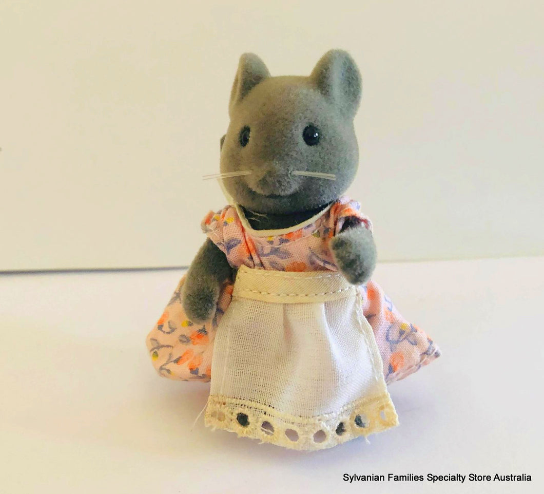 Sylvanian Families thistlethorn mouse mother