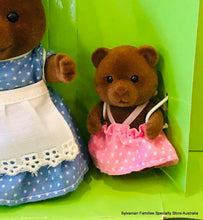 Sylvanian fAmlies brown girl bear Timbertop