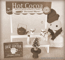 Sylvanian Families Hot cocoa stand custom