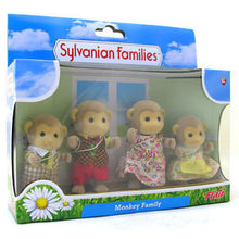 Sylvanian FAmilies Monkey Family Flair Release 4 members