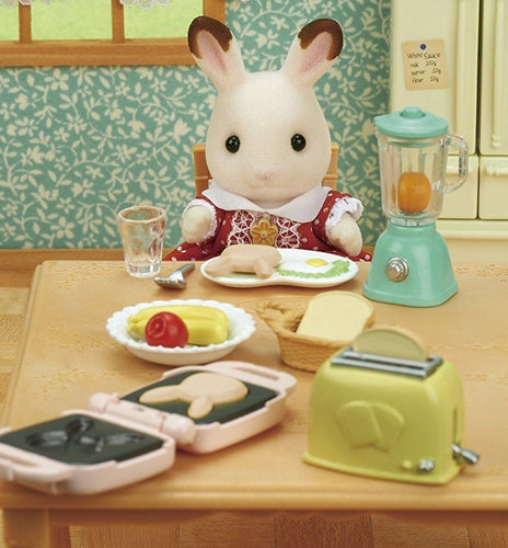 Sylvanian Families New Healthy Breakfast Set