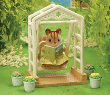 Sylvanian Families Ornate Garden Swing set white - SF 4534