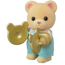 Sylvanian Families Baby Band Series 3 Jason Osborne with cymbals