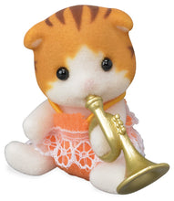 Sylvanian Families Baby Band Series 7 Daisy Maple with Trumpet