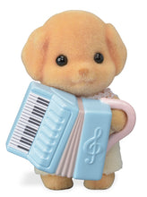 Sylvanian Families Baby Band Series 6 Milo Cakebread with accordian