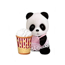 Sylvanian Families Shopping Series Blind bags panda and popcorn