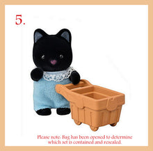 Sylvanian Families Blind Bags Shopping series rabbit tuxedo cat