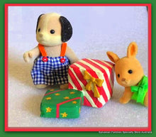 Miniature gifts for Sylvanian Families Christmas presents
