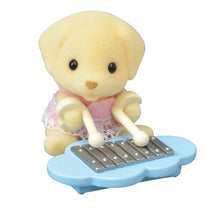 Sylvanian Families Baby Band Series 8 Poppy Fenton with xylophone