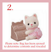 Sylvanian FAmilies Blind Bags Shopping series silk cat