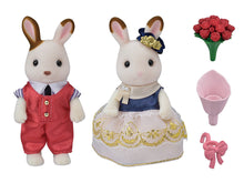 Sylvanian Families Stella Rabbit's boyfriend set roses and bouquet