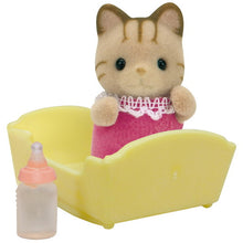 Sylvanian Families Striped Cat Baby (Brown Stripes) - SF 5186