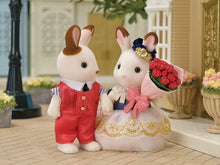 Sylvanian Families Cute Couple set new Town series