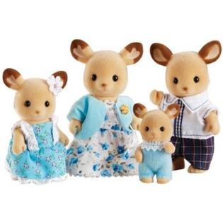 Sylvanian Famlies Calico Critters Red Deer Family