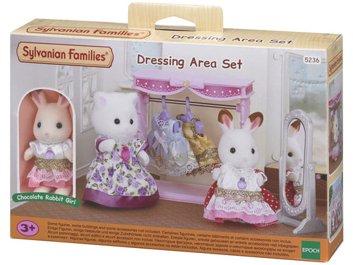 Sylvanian Families Dressing Area Set with figure