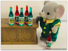 Sylvanian Elephant father bottles x 6 miniature